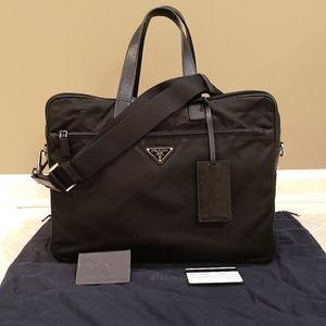 Prada Nylon Laptop Bag
